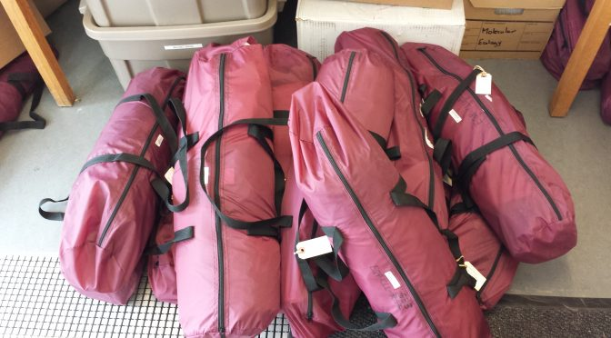 Pack, Stack and Go! Preparing for the School Malaise Trap Program.