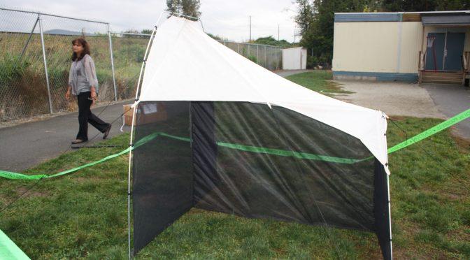 Malaise Trap Setup